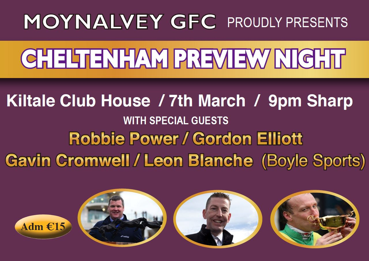 2020 Cheltenham Preview Night