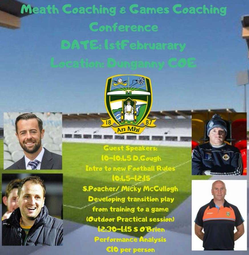 2020 Meath GAA Coaching Conference