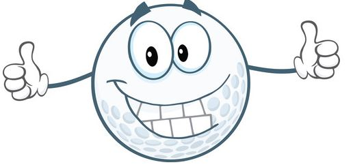 Golf Ball Happy
