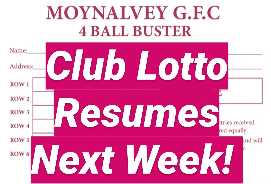 Lotto Resumption