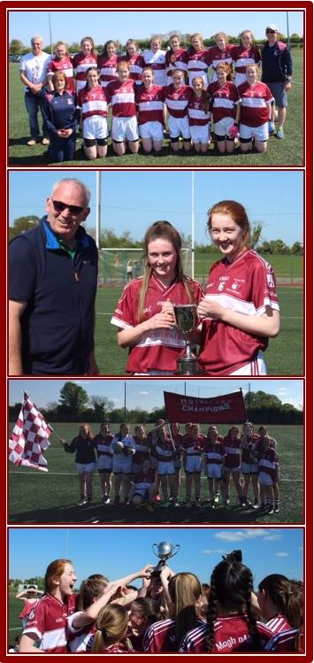 U 16 Girls Winners Collage with border