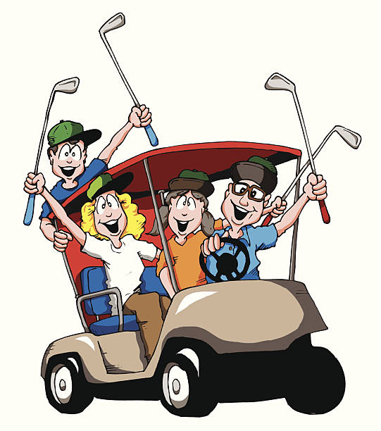 golf animated clipart 47